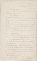 Autographs:U.S. Presidents, James Monroe Letter Signed... (Total: 2 Items)