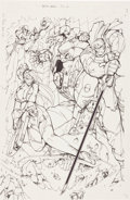 Original Comic Art:Splash Pages, Fred Perry Battle Chasers Pin-Up Original Art (undated)....