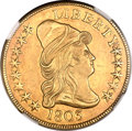 Early Eagles, 1803 $10 Small Stars Reverse -- Obverse Improperly Cleaned -- NGCDetails. Unc. BD-3, R.4....