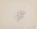 Animation Art:Production Drawing, Mickey Mouse Puppy Love Production Drawing Animation Art(Disney, 1933)....