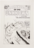 Original Comic Art:Covers, Angel Gabriele The Challengers of the Unknown #2 CoverRe-Creation Original Art (2011)....