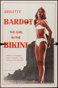 "Movie Posters:Adventure, The Girl in the Bikini (Atlantis Films, 1958). One Sheet (27"" X41""). Adventure.. ..."