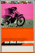 "Movie Posters:Documentary, On the Line (Media-Cinema, 1971). One Sheet (23"" X 35""). Documentary.. ..."
