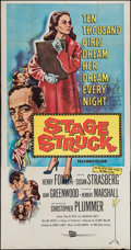 "Movie Posters:Drama, Stage Struck (RKO, 1958). Three Sheet (41"" X 79""). Drama.. ..."
