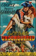 """Movie Posters:Adventure, Unconquered (Paramount, 1947). Trimmed One Sheet (24.75"""" X 38"""").Adventure.. ..."""