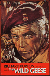 """The Wild Geese (Allied Artists, 1978). Set of 4 Portrait Posters (20"""" X 30""""). War. ... (Total: 4 Items)"""