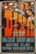 "Movie Posters:Musical, Dixie (Paramount, 1943). One Sheet (27"" X 41""). Musical.. ..."