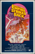 "Movie Posters:Science Fiction, The Empire Strikes Back (20th Century Fox, R-1982). One Sheet (27""X 41"") Dark Background Style. Science Fiction.. ..."