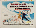 "Movie Posters:Musical, Painting the Clouds with Sunshine (Warner Brothers, 1951). Half Sheet (22"" X 28""). Musical.. ..."