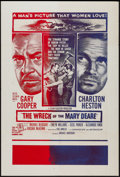 "Movie Posters:Thriller, The Wreck of the Mary Deare (MGM, 1959). Military One Sheet (27"" X 40""). Thriller.. ..."