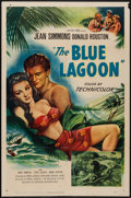 "Movie Posters:Adventure, The Blue Lagoon (Universal International, 1949). One Sheet (27"" X41""). Adventure.. ..."