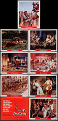"Movie Posters:Action, Spartacus (Universal International, 1960). Roadshow Lobby Card Set of 9 (11"" X 14""). Action.. ... (Total: 9 Items)"