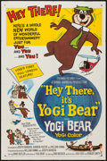"Movie Posters:Animation, Hey There, It's Yogi Bear (Columbia, 1964). One Sheet (27"" X 41"").Animation.. ..."