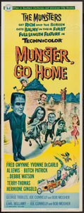"Movie Posters:Comedy, Munster, Go Home (Universal, 1966). Insert (14"" X 36""). Comedy.. ..."