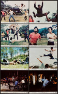 """Movie Posters:Action, Fists of Fury (National General, 1973). Mini Lobby Card Set of 8 (8"""" X 10""""). Action.. ... (Total: 8 Items)"""