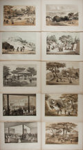 Books:Prints & Leaves, Commodore Perry. Lot of Ten Plates from Perry's Expedition toJapan. [Washington: Nicholson, 1856]. Quarto plates. Approxima...