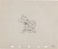 Animation Art:Production Drawing, Mickey Mouse Squatter's Rights Production Drawing AnimationArt (Disney, 1946)....