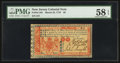 Colonial Notes:New Jersey, New Jersey March 25, 1776 £6 PMG Choice About Unc 58 EPQ.. ...