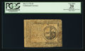 Colonial Notes:Continental Congress Issues, Continental Currency May 9, 1776 $2 PCGS Apparent Very Fine 20.....