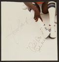 Basketball Collectibles:Others, Pistol Pete Maravich Signed Cut Signature. ...