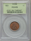 Lincoln Cents: , 1921 1C MS64 Red and Brown PCGS. PCGS Population (185/56). NGCCensus: (89/49). Mintage: 39,157,000. Numismedia Wsl. Price ...