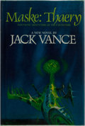 Books:Science Fiction & Fantasy, Jack Vance. SIGNED. Maske: Thaery. Berkley/Putnam, 1976. First edition, first printing. Signed by the author. Mi...