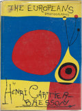 Books:Photography, Henri Cartier-Bresson. The Europeans. New York: Simon andSchuster, [1955]. First American edition. Presentation c...