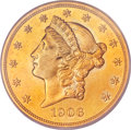 Proof Liberty Double Eagles, 1906-D $20 Special Strike SP66 PCGS. CAC.... (Total: 2 items)