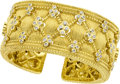 Estate Jewelry:Bracelets, Diamond, Gold Bracelet, Judith Ripka. ...
