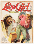 Pulps:Adventure, Live Girl Stories - January '29 (Street & Smith, 1929) Condition: VG-....