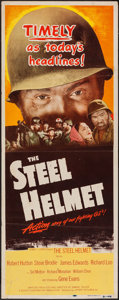 "Movie Posters:War, The Steel Helmet (Lippert, 1951). Insert (14"" X 36""). War.. ..."