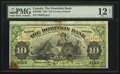 Canadian Currency: , Toronto, ON- The Dominion Bank $10 Jan. 2, 1925 Ch. # 220-18-10 . ...