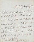 Autographs:Non-American, Arthur Wellesley, 1st Duke of Wellington, Autograph Letter....