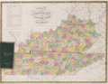 Miscellaneous:Maps, [Map]. Samuel Augustus Mitchell. Map of Kentucky and TennesseeCompiled from the Latest Authorities....