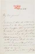 Autographs:Non-American, Prince Philippe, Count of Paris Autograph Letter Signed...
