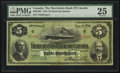 Canadian Currency: , Montreal, PQ- The Merchants Bank of Canada $5 Feb. 1, 1916 Ch. #460-18-02. ...