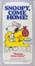 """Movie Posters:Animation, Snoopy, Come Home! (National General, 1972). Three Sheet (41"""" X 76.5""""). Animation.. ..."""