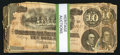 Confederate Notes:1864 Issues, T68 $10 1864 Thirty-One Examples.. ... (Total: 31 notes)