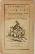 Books:Americana & American History, John Kirk. Kirk's Exposition of Odd-Fellowship. Illustratedwith Thirty-Six Engravings. New York: Published by t...