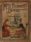 Books:Americana & American History, Bricktop. Miss Blinker's Blinds. Illustrated by ThomasWorth. New York: Frank Tousey, Publisher, 1892. First edi...