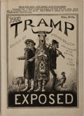 Books:Americana & American History, Frank Bellew, editor. The Tramp Exposed: His Tricks, Tallies andTell-Tales... New York: M. J. Ivers, [1878]. Fi...