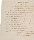 Autographs:U.S. Presidents, James Madison Letter Press Copy of an Autograph Letter Signed....