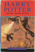 Books:Children's Books, J. K. Rowling. Harry Potter and the Goblet of Fire.Vancouver: Raincoast Books, [2000]. First Canadian edition. Si...