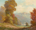 Paintings, ROBERT WILLIAM WOOD (American, 1889-1979). Texas Hillside. Oil on canvas. 25 x 30 inches (63.5 x 76.2 cm). Signed lower ...