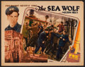 "Movie Posters:Adventure, The Sea Wolf (Fox, 1930). Lobby Card (11"" X 14""). Adventure.. ..."