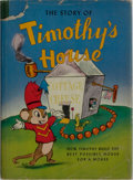 Books:Children's Books, [Walt Disney]. The Story of Timothy's House. Garden CityPublishing, 1941. First edition, first printing. Publisher'...