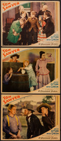 "Movie Posters:Adventure, Tom Sawyer (Paramount, 1930). Lobby Cards (3) (11"" X 14"").Adventure.. ... (Total: 3 Items)"