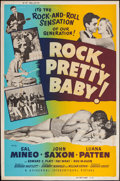"Movie Posters:Rock and Roll, Rock, Pretty Baby (Universal International, 1957). Poster (40"" X 60""). Rock and Roll.. ..."