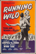 "Movie Posters:Bad Girl, Running Wild (Universal International, 1955). Poster (40"" X 60"").Bad Girl.. ..."