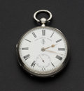 Timepieces:Pocket (pre 1900) , Swiss John Forrest London Lever Fusee Pocket Watch. ...